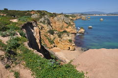 Praia do Camilo, Algarve, Portugal, Europe Royalty Free Stock Image