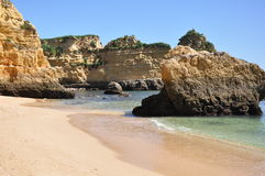 Praia Dona Ana, Algarve, Portugal, Europe Stock Images