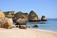 Praia Dona Ana, Algarve, Portugal, Europe Royalty Free Stock Photo