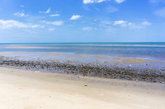 Beach in Pranburi Royalty Free Stock Photography