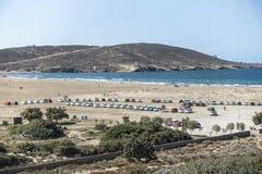 Beach in Prassonisi on Rhodes. Royalty Free Stock Photo