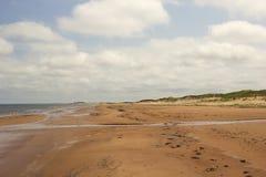 Beach in Prince Edward Island National Park Stock Image