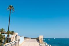 Beach promenade Stock Photo