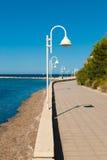 Beach promenade Stock Images