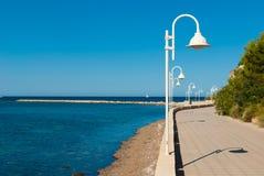 Beach promenade Stock Photography