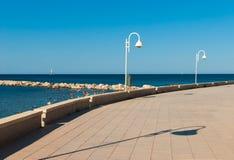 Beach promenade Royalty Free Stock Image