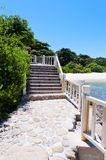 The beach promenade Stock Image