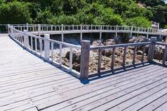 The beach promenade Stock Photo