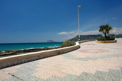 Beach Promenade Royalty Free Stock Images