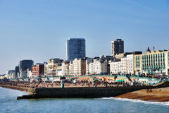 Beach And Promenade Brighton Royalty Free Stock Images