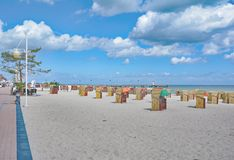 Beach of Dahme,baltic Sea,Schleswig-Holstein,Germany Stock Images