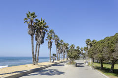 Beach Promenade, Ventura, CA Royalty Free Stock Photo