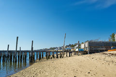 Beach at Provincetown, Cape Cod, Massachusetts. USA Royalty Free Stock Image
