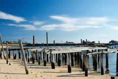 Beach at Provincetown, Cape Cod, Massachusetts Royalty Free Stock Images
