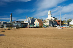 Beach at Provincetown, Cape Cod, Massachusetts Stock Photo