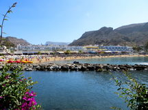 Beach, Puerto de Mogan Stock Photography