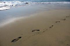 Beach of Puerto Escondido Stock Images
