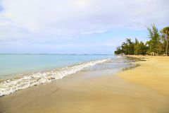 Beach, Puerto Rico Stock Photography