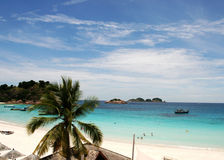Beach at the Pulau Redang, Malaysia Royalty Free Stock Images