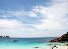 Beach at the Pulau Redang, Malaysia Royalty Free Stock Photos