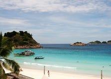 Beach at the Pulau Redang, Malaysia Stock Image