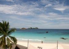 Beach at the Pulau Redang, Malaysia Royalty Free Stock Photography