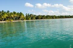 Beach of Punta El Rey on Dominican Republic. Beach of Punta El Rey on Costa Esmeralda Dominican Republic royalty free stock image