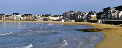 Beach of Quiberon in France Stock Photo
