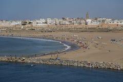 Beach in Rabat, Morocco Royalty Free Stock Photo
