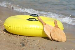 Beach rackets stock image