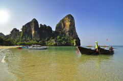 The beach at Railay Island Royalty Free Stock Image