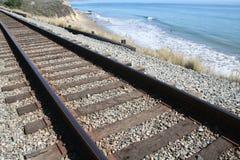 Beach Railroad Stock Photos