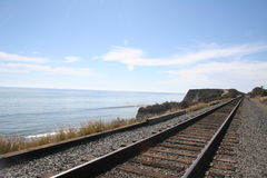 Beach Railroad Stock Images