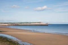 Beach Ramsey Isle of Man Stock Image