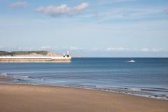 Beach Ramsey Isle of Man Stock Photos