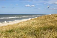 Beach of Rantum, Sylt stock photography
