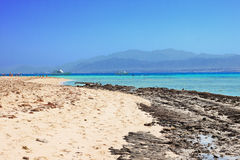 Beach on the Red Sea royalty free stock image