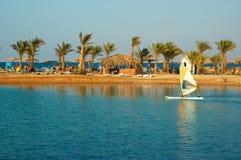 Beach on Red Sea Stock Photo