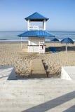 Beach refreshments stand Stock Image
