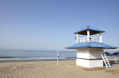 Beach refreshments stand Royalty Free Stock Photo