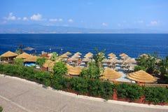 Beach in Reggio Calabria Stock Image