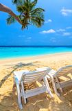 Beach for relax stock image