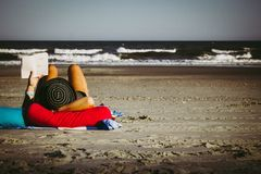 Beach Relaxation Royalty Free Stock Image