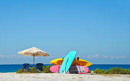 Beach Rentals Royalty Free Stock Image
