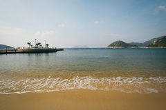 Beach at Repulse Bay, in Hong Kong, Hong Kong. Stock Images