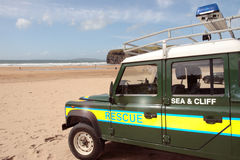 Beach rescue Stock Photos