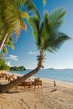 Beach and resort Stock Image
