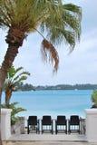 Beach resort. Beautiful view of luxury beach resort by the sea Royalty Free Stock Photo