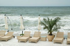 Beach Resort Stock Photography