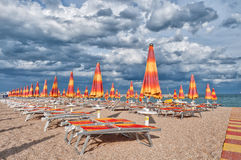 Beach Resort in Adriatic Riviera Stock Photos
